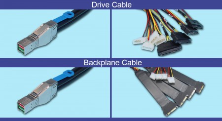 HD SAS Drive Analyzer Cables