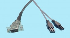 "DB9 Female - 3-pin PTP ""Y"" Cable"