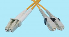 LC-SC Fiber Optic MultiMode Duplex 850nm 50/125u 3mm