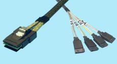 SFF-8087 to (4) 7-PIN SATA