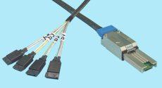 (4) SATA 7-Pin Fanout to SFF-8088