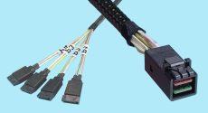 SATA 7-pin (X4) to SFF-8643
