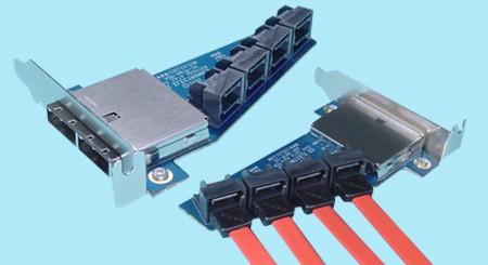 SFF-8088 to SATA 7-pin