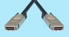 CX4 10Gb/s Ethernet Cable - 'Sqeeze' Latch