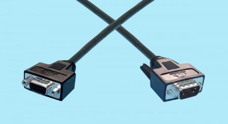 DB9 Female - DB9 Male Fibre Channel Cables
