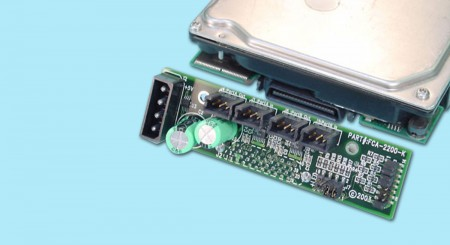 """2 Gbs Single-Drive """"Low-Profile"""" FC Adapter 1"""" Form Factor"""