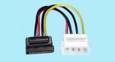 SATA Power Cable - Drive power to Standard 4-pin power